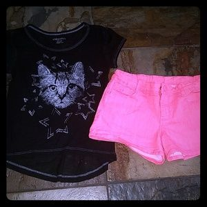 Girls size 6/7 outfit